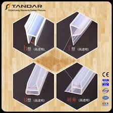 Silicone Shower Door Seal China Waterproof Clear Silicone Shower Door Seal Supplier