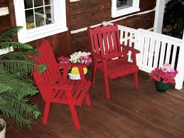 Solid Wood Patio Furniture by 45 Best Painted U0026 Stained Outdoor Solid Wood Furniture Images On