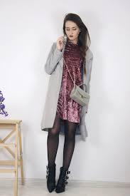 dress mini dress pink dress velvet velvet dress