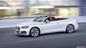 white audi a5 convertible 2018 audi a5 cabriolet color glacier white side hd wallpaper 5