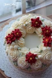 Christmas Cake Decorations Flowers by 327 Best Flower Butttercream Cakes Ideas Images On Pinterest