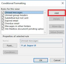 how to color code outlook messages by sender and why you should