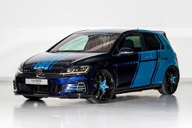 subaru gti 2017 amped up vw golf gti first decade goes hybrid for wörthersee 2017