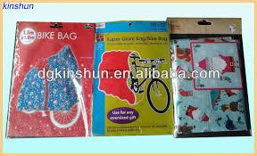 jumbo bicycle bike large present santa sack gift bag tag