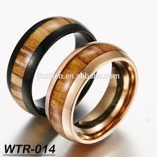 cincin tungsten carbide baru kedatangan tungsten carbide cincin hitam gold plating