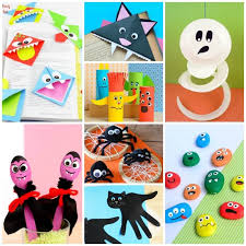 Craft Ideas For Kids Halloween - halloween crafts ideas for kids many spooky art and craft