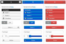 top 16 best looking jquery mobile themes