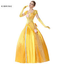 halloween costumes belle beauty beast gown evening dress picture more detailed picture about kimring
