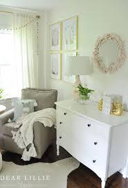 a sweet and whimsical nursery for lila grey dear lillie studio
