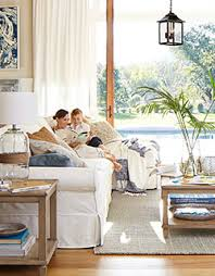 pottery barn livingroom room inspiration pottery barn