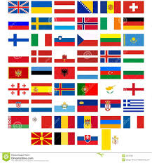 Europe Flags Flags Of The Countries Of Europe Stock Vector Image 35219352