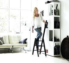 Step Stool For Kids Bathroom - stools brown wood foldable step stool kitchen locking ladder
