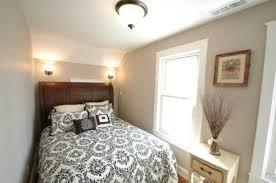 Unique Small Bedroom With White Color Scheme And Deep Color - Color schemes for small bedrooms