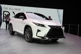 lexus cars nyc 2016 lexus rx at new york international auto show 1 u2013 clublexus