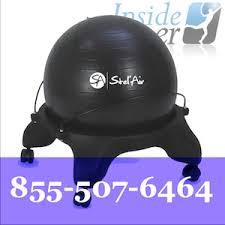 exercise ball desk chair the inside trainer inc