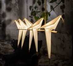 pendant light perch light branch white gold ø51cm moooi