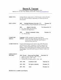 Great Resume Objectives Examples examples of resumes entry sample resume level hospital job ideas