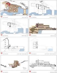 falling water house plan