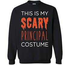 Halloween Shirt Costumes My Scary Principal Teacher Costume Fun Halloween Tee T