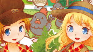 Harvest Moon Tale Of Two Towns Main Dish - i created a black character in trio of towns what happened next