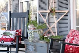 front porch christmas decorations front porch christmas decorating finding home