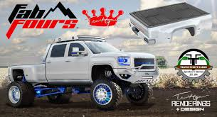 white linex jeep mailbag the truck guru goes to sema