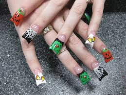 halloween nail art designs nail design together with christmas