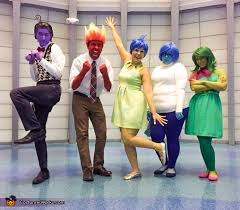 inside out costumes diy inside out family costume