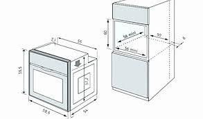 dimension meuble cuisine meuble cuisine colonne pour four encastrable dimensions meubles