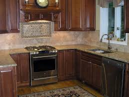tiles backsplash travertine tile kitchen backsplash black lacquer