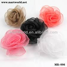 ribbon fabric wedding dress satin flower ribbon fabric flower flower cloth