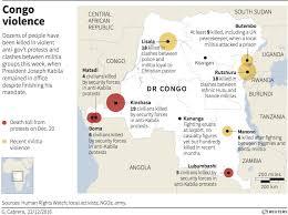 Republic Of Congo Map Dozens Are Killed In The Democratic Republic Of Congo As Anti