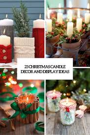 23 christmas candle décor and display ideas shelterness