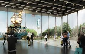 new details renderings emerge for statue of liberty museum