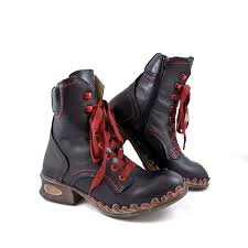 low motorcycle boots rovers 42003 low heel ankle boots with ribbon laces rubyshoesday