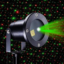 red and green firefly laser light sparkling star projector ip65