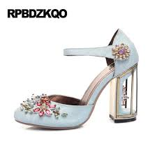 Light Blue High Heels Compare Prices On Light Blue Rhinestone Heels Online Shopping Buy