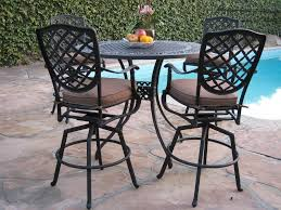 Aluminum Patio Furniture Set - amazon com cast aluminum outdoor patio furniture 5 piece bar
