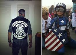 Sons Anarchy Costume Halloween Bb Readers U0027 Diy Costumes Animal Son Anarchy