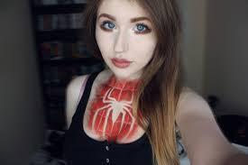spiderman u0027 makeup tutorial youtube