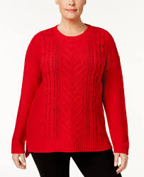 plus size cable knit sweater ny collection plus size cable knit sweater sweaters plus sizes