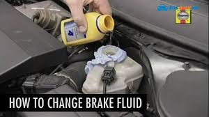 how to change brake fluid in a car youtube