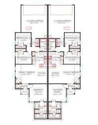 one story house blueprints one level duplex craftsman style floor plans duplex plan 1261 b