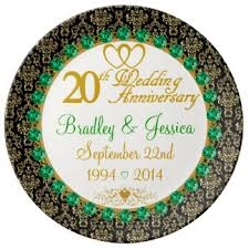 personalized anniversary plate custom wedding anniversary plates