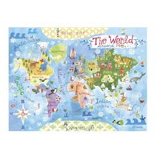 Mcdonalds In America Map by Amazon Com Gibby U0026 Libby The World Around Me Map Puzzle By C R