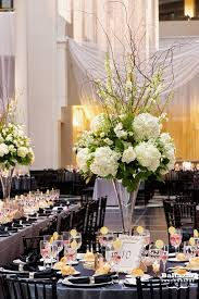 White Centerpieces Friday Feature Tall White And Ivory Floral Centerpieces