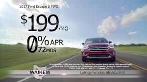 Ford Escape Msrp - waikem ford july 2017 tv commercial youtube