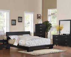 Black Zen Platform Bedroom Set Black Modern Bedroom Furniture Video And Photos Madlonsbigbear Com