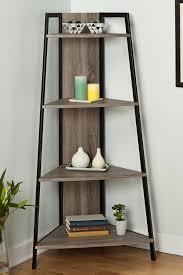 seneca black gray corner shelf on hautelook apartment