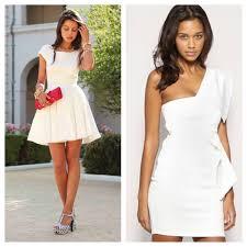 all white cocktail dresses u2013 fashion dress trend 2017